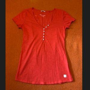 *3for$30* Esprit red V-neck long tee NWOT